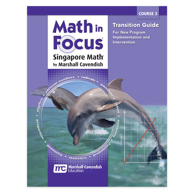 Math in Focus: Singapore Math  Transition Guide Course 3-9780547618074