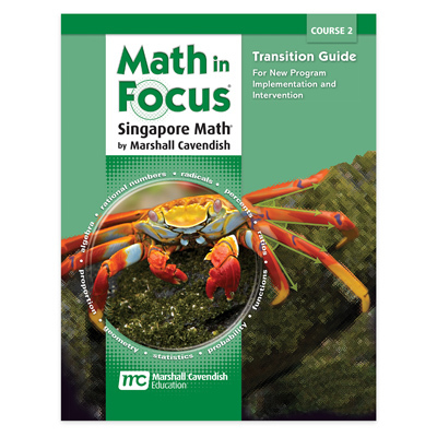 Math in Focus: Singapore Math  Transition Guide Course 2-9780547618081