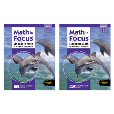 Math in Focus: Singapore Math  Student Edition Kit Course 3-9780547618104