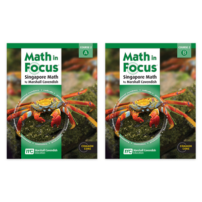Math in Focus: Singapore Math  Student Edition Set Course 2-9780547618111