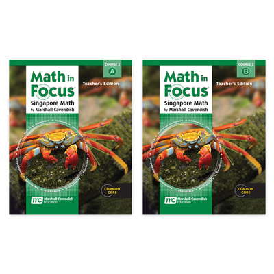 Math in Focus: Singapore Math Teacher's Edition Set Course 2