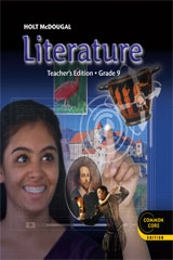 Order holt mcdougal literature teachers edition grade 9 isbn holt mcdougal literature teachers edition grade 9 fandeluxe Image collections