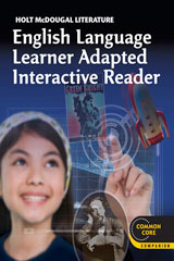 Holt McDougal Literature  ELL Adapted Interactive Reader Grade 7-9780547619590