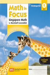 Math in Focus: Singapore Math  Student Edition, Book B Part 1 Grade K-9780547625249