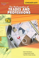 Consumer Mathematics  Reproducible The Mathematics of Trades & Professions-9780547625560