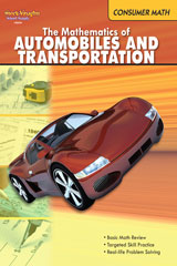 Consumer Math  Reproducible The Mathematics of Autos & Transportation-9780547625621