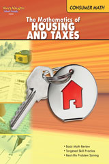 Consumer Math  Reproducible The Mathematics of Housing & Taxes-9780547625645