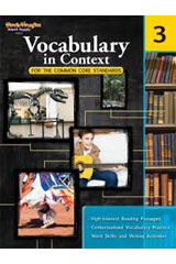 Vocabulary in Context for the Common Core Standards  Reproducible Grade 3-9780547625768