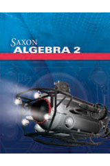 Saxon Algebra 2, 4th Edition  Kit with Solutions Manual-9780547625881
