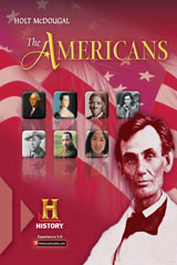 Holt McDougal The Americans: Reconstruction to the 21st Century © 2012 Pennsylvania Teacher's Edition-9780547626383