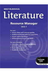 Holt McDougal Literature  Common Core Resource Manager Kit Grade 9-9780547629094