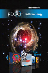 ScienceFusion Online Student Interactive Digital Curriculum 7-year Grades 6-8 Module H: Matter and Energy