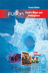 ScienceFusion Online Student Interactive Digital Curriculum 1-year Grades 6-8 Module F: Earth's Water and Atmosphere