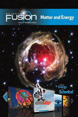 ScienceFusion Online Student Interactive Digital Curriculum 1-year Grades 6-8 Module H: Matter and Energy