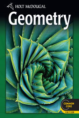 Holt McDougal Geometry  Student Edition-9780547647098