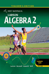 Holt McDougal Larson Algebra 2  Teacher's Edition-9780547647111