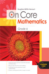 Houghton Mifflin Harcourt On Core Mathematics  Student Workbook Grade 6-9780547674988