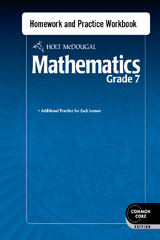 Worksheets Holt Mcdougal Mathematics Worksheets holt mcdougal mathematics homework and practice workbook grade 7 7
