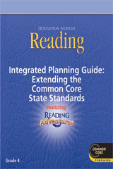 Houghton Mifflin Reading Adventure  Planning Guide Grade 4-9780547687513