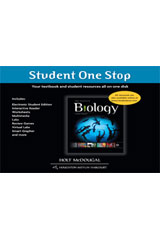 Holt McDougal Biology  Student One-Stop (DVD)-9780547687681