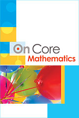 On Core Mathematics  Deluxe ExamView CD-ROM Grades 6-12-9780547688237