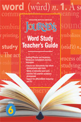 Journeys  Guided Word Study Grade 6-9780547691046