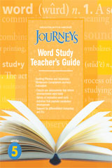 Journeys  Guided Word Study Grade 5-9780547691060