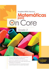Houghton Mifflin Harcourt Matemáticas para On Core  Student Edition Grade 2-9780547698465