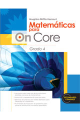 Houghton Mifflin Harcourt Matemáticas para On Core  Student Edition Grade 4-9780547698496
