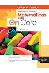 Houghton Mifflin Harcourt Matemáticas para On Core  Teacher's Edition Grade 2-9780547698540