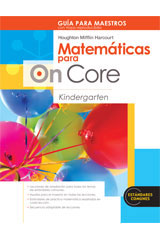 Houghton Mifflin Harcourt Matemáticas para On Core  Teacher's Edition with Blackline Masters Grade K-9780547698601