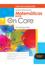 Houghton Mifflin Harcourt Matemáticas para On Core  Assessment Book Grade K-9780547698670