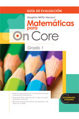 Houghton Mifflin Harcourt Matemáticas para On Core  Assessment Book Grade 1-9780547698687