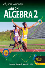 Holt McDougal Larson Algebra 2 6 Year Online Edition-9780547709956