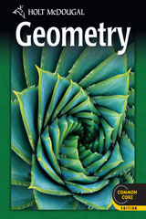Holt McDougal Geometry  Chapter Resource Book with Answers Volumes 1 & 2-9780547710198