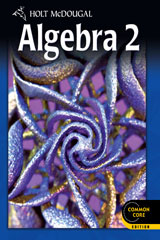 Holt McDougal Algebra 2  Chapter Resource Book with Answers Volumes 1 & 2-9780547710204