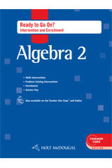 Holt McDougal Algebra 2  Ready to Go On? Intervention & Enrichment with Answers-9780547710358