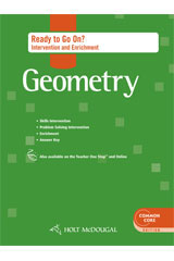 Holt McDougal Geometry  Ready to Go On? Intervention & Enrichment with Answers-9780547710365