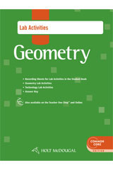 Holt McDougal Geometry  Lab Activities with Answers-9780547710426