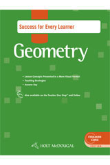 Holt McDougal Geometry  Success for Every Learner with Answers-9780547710525