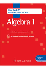 Worksheets Holt Mcdougal Worksheets holt mcdougal algebra 1 i d e a works modified worksheets tests with answers