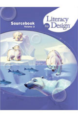 Literacy by Design  Student Sourcebook, Volume 2 Grade 4-9780547734576