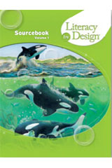 Literacy by Design  Student Sourcebook, Volume 1 Grade 5-9780547734583