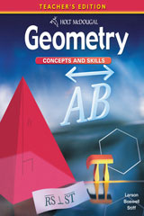 Holt McDougal Geometry  Geometry Concepts & Skills with On Core Teacher Bundle-9780547764474