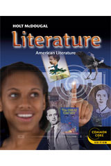 Holt McDougal Literature 6 Year Student Edition eTextbook ePDF Grade 11 American Literature-9780547775876