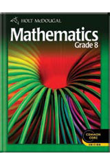 Holt McDougal Mathematics 6 Year Student Edition eTextbook ePub Grade 8-9780547775951