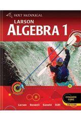 Holt McDougal Larson Algebra 1 6 Year Student Edition eTextbook ePub-9780547775999
