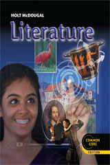 Holt McDougal Literature 7 Year Interactive Teacher Access Online Grade 9-9780547801889