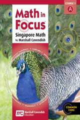 Math in Focus: Singapore Math  Homeschool Package, 1st semester Grade 6-9780547820880