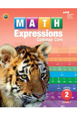 Math Expressions  Homework & Remembering Black Line Masters Grade 2-9780547825205